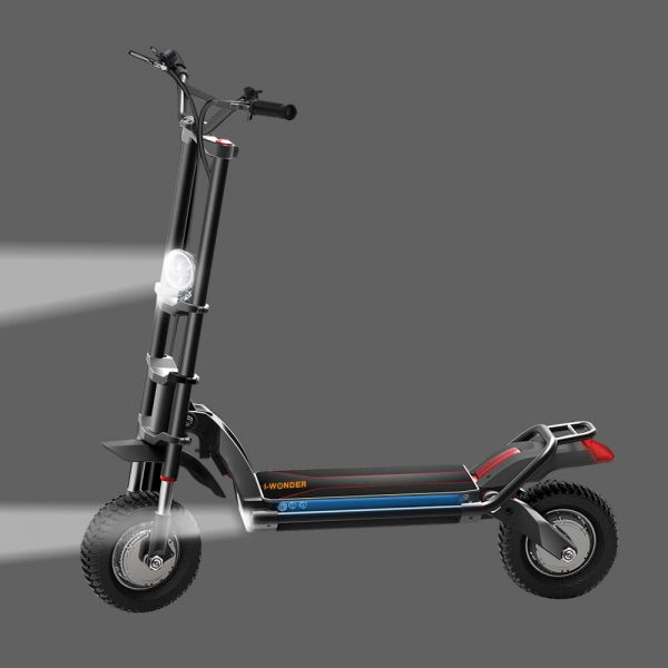 Super Power 2400w Dual Motor Off Road Electric Scooter